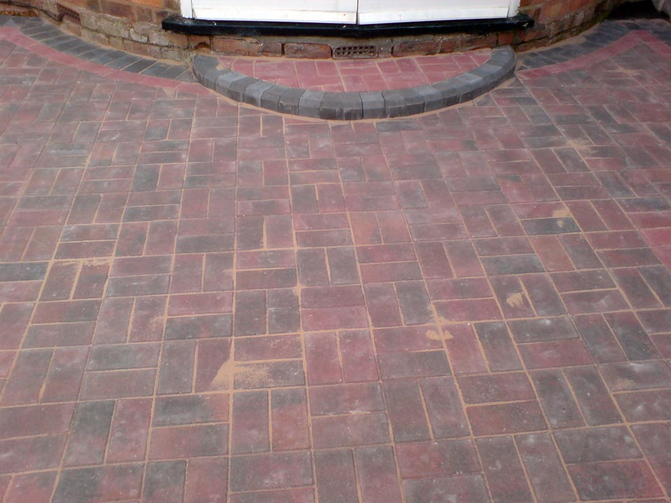Basket Weave Block Paving