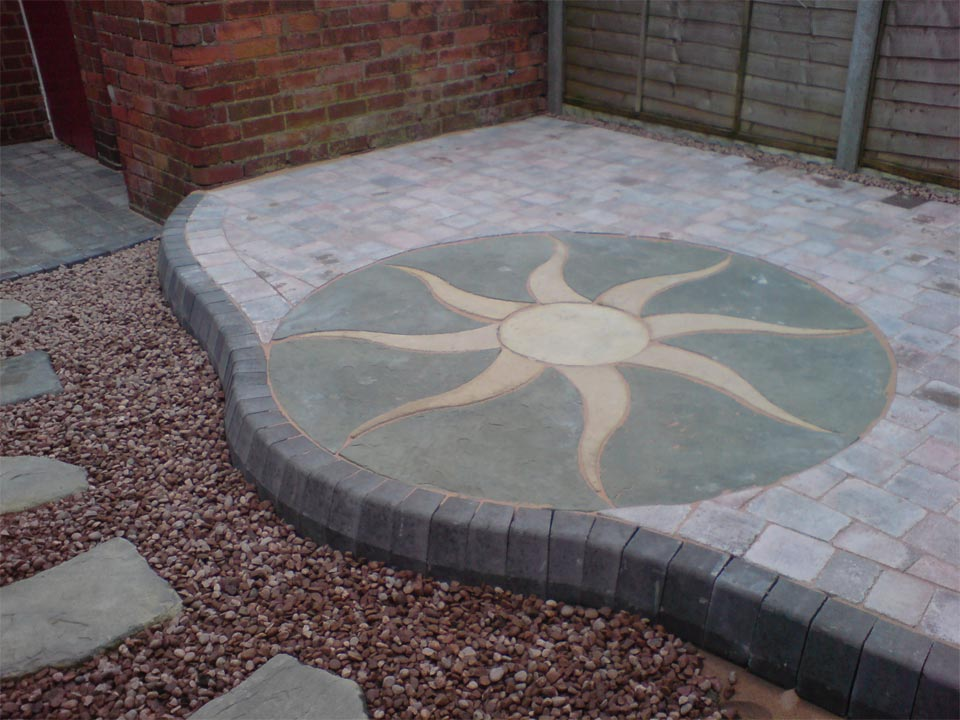 Slab And Cobble Pattern