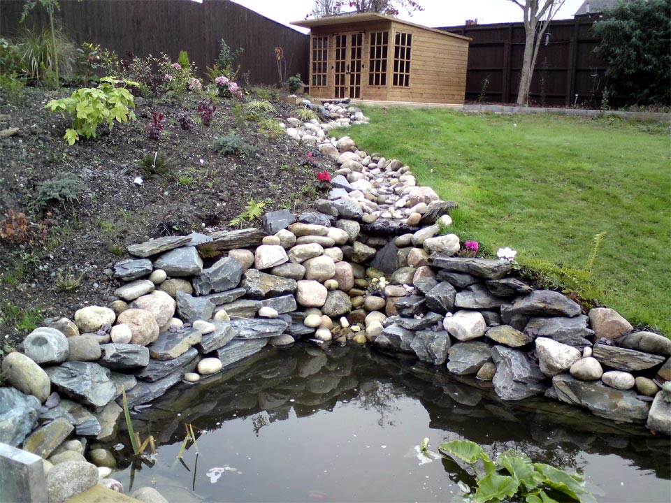 Water Feature And Pond